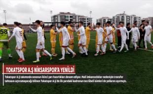TOKATSPOR A.Ş NİKSARSPOR'A YENİLDİ