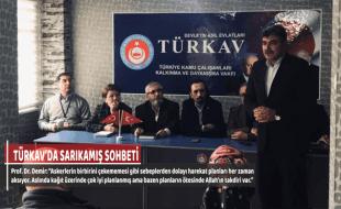 TÜRKAV'DA SARIKAMIŞ SOHBETİ