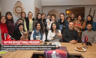 'HAYVAN SEVGİSİ' TEMALI PROGRAM