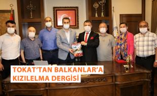 """TOKAT'TAN BALKANLAR'A KIZILELMA DERGİSİ """"Hedefimiz gönülde; Kızılelma Ülküsü"""""""