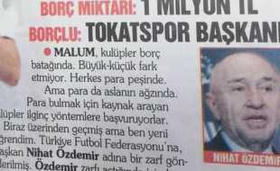 A.Ş'YE HİZMET, TOKAT'A İHANETTİR
