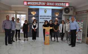 CHP Kadın Kollarından İstanbul sözleşmesi açıklaması: İSTANBUL SÖZLEŞMESİ KIRMIZI ÇİZGİMİZDİR!