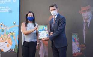 """Erbaa Belediyesi """"Çevre Dostu Kent Erbaa"""" projesiyle ödül aldı"""