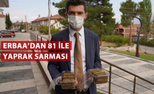 ERBAA'DAN 81 İLE YAPRAK SARMASI
