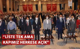 """""""LİSTE TEK AMA KAPIMIZ HERKESE AÇIK"""""""