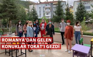 ROMANYA'DAN GELEN KONUKLAR TOKAT'I GEZDİ