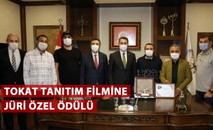 TOKAT TANITIM FİLMİNE JÜRİ ÖZEL ÖDÜLÜ