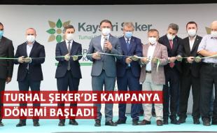 TURHAL ŞEKER'DE KAMPANYA DÖNEMİ BAŞLADI