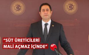 """""""SÜT ÜRETİCİLERİ MALİ AÇMAZ İÇİNDE"""""""