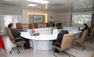 Vali Dr. Ozan Balcı Başkanlığında Kaymakamlar Toplantısı Yapıldı
