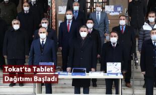 Tokat'ta Tablet Dağıtımı Başladı
